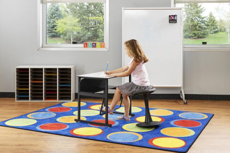 Classroom Whiteboard for elementary students, movable whiteboard, Safco Fitneff United States