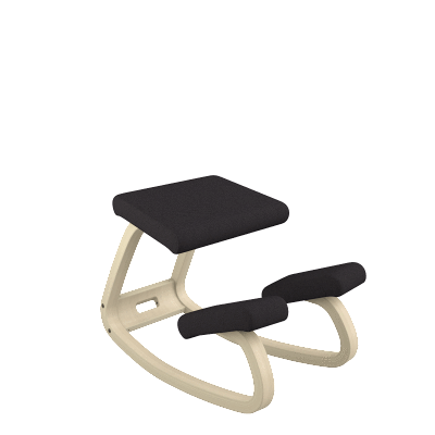 Varier Variable ergonomic Black Active Stool from Fitneff United States