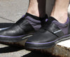 Purp Clipless Bike Shoe | DZRshoes - on the foot