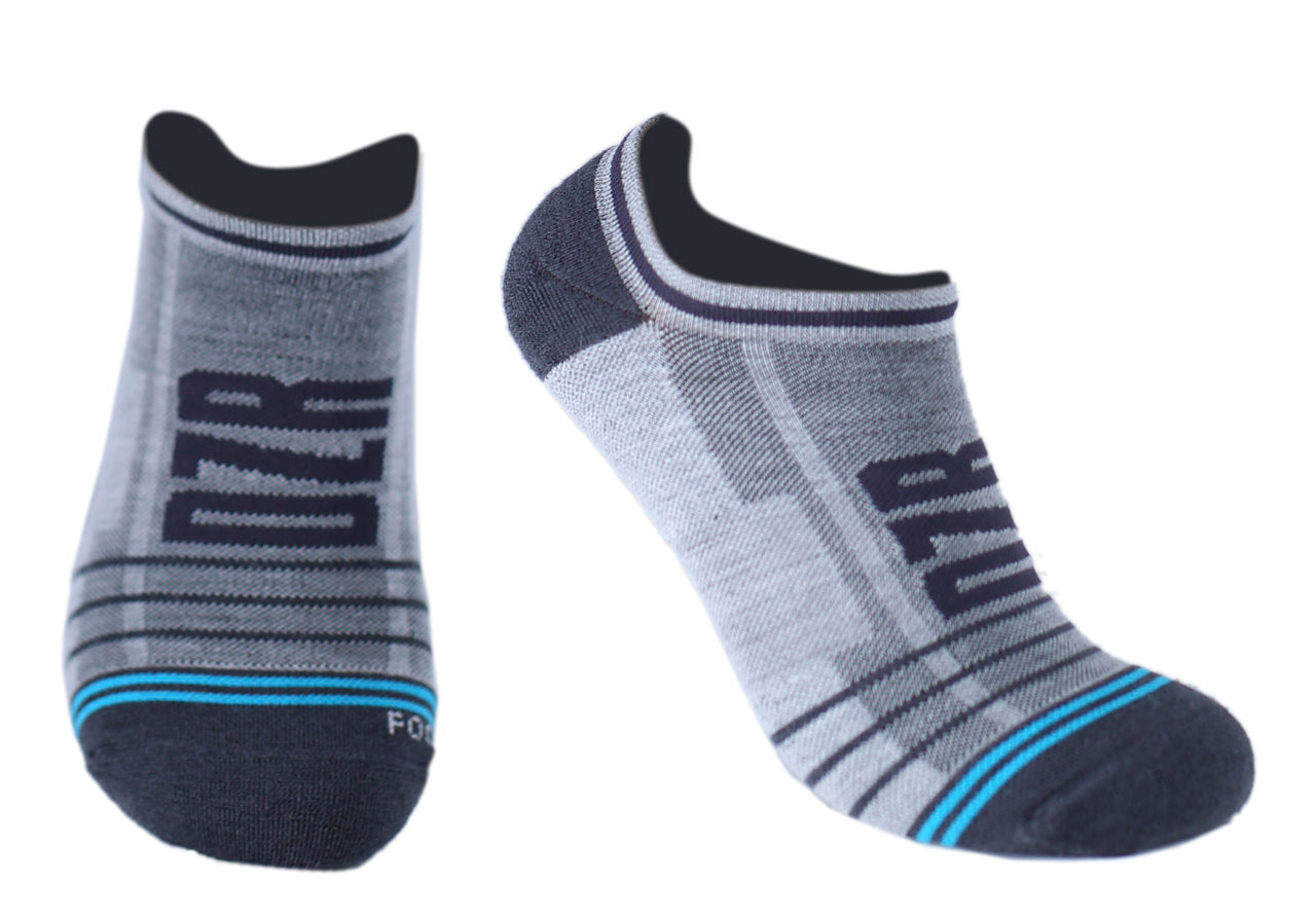 No Show Socks - Fog Grey