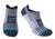 Wool No Show Cycling Socks - Fog Grey