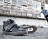 Marco Black Clipless Bike Shoe | DZRshoes - side and bottom view
