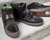 Marco Black Clipless Bike Shoe | DZRshoes - top and front view