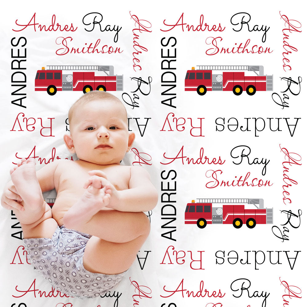 custom personalized baby name blankets