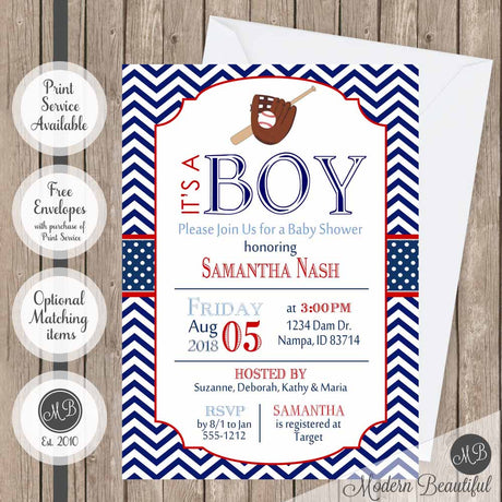 boy baby shower invitations tagged baseball theme baby shower