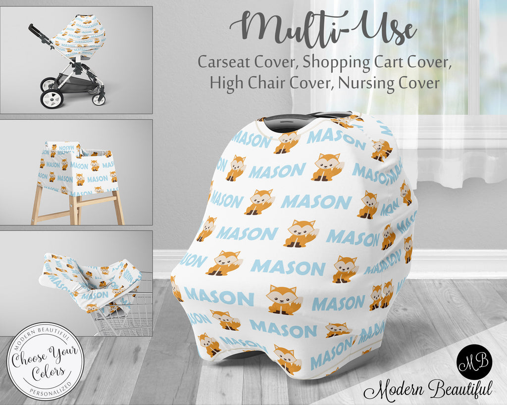 car seat stroller high chair shopping cart cover