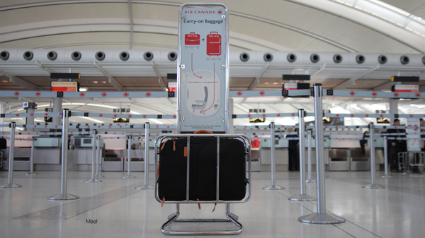 Standard Carry-on conforms to international airline standards