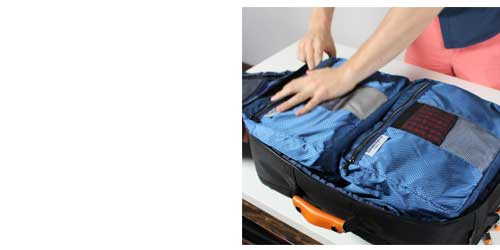 packing cubes efficient