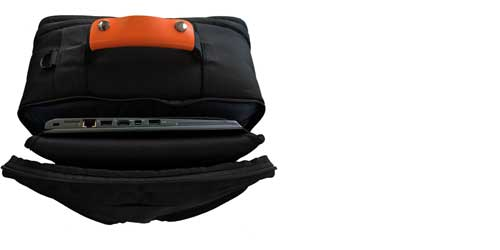 travel backpack laptop sleeve