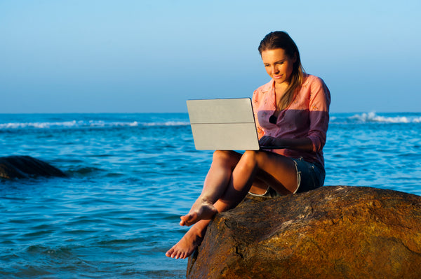 Buy these companies to be a digital nomad