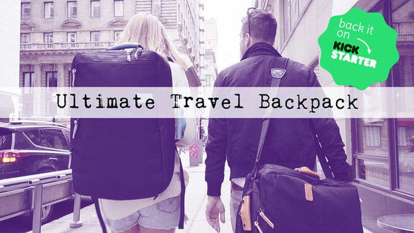ca9d55ea4be5 Announcing our Kickstarter Campaign  the Ultimate Work-Life Travel Bag