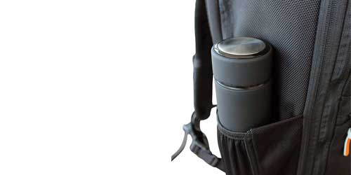 travel backpack water bottle pocket