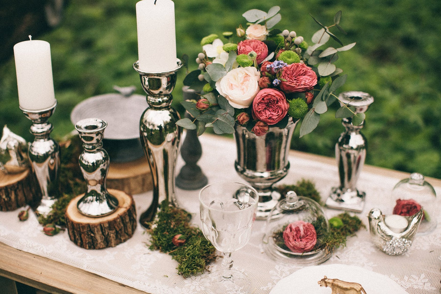 5 alternativas de decoración con Velas para Boda:
