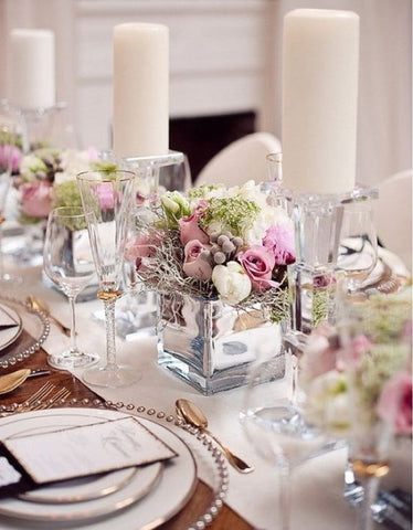 5 alternativas de decoración con Velas para Boda 14