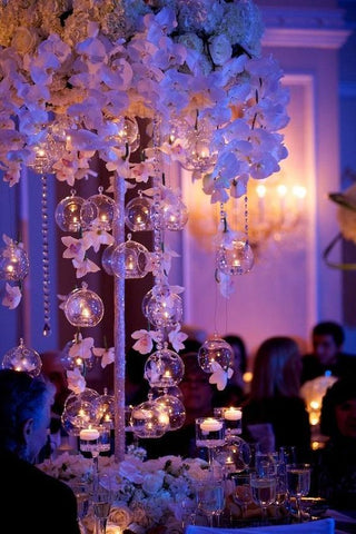 5 alternativas de decoración con Velas para Boda 21