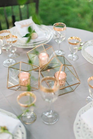 5 alternativas de decoración con Velas para Boda 22