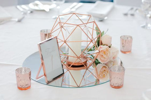 5 alternativas de decoración con Velas para Boda 25