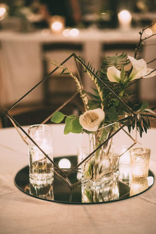 5 alternativas de decoración con Velas para Boda 26