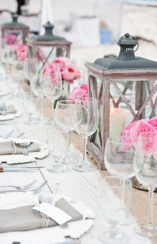 5 alternativas de decoración con Velas para Boda 5