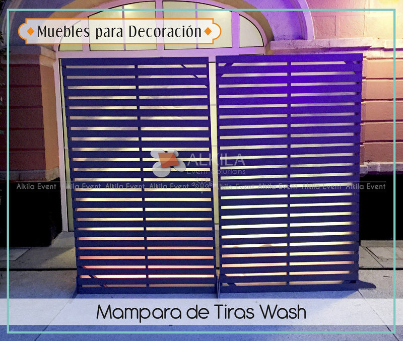 Mampara de Tiras Wash