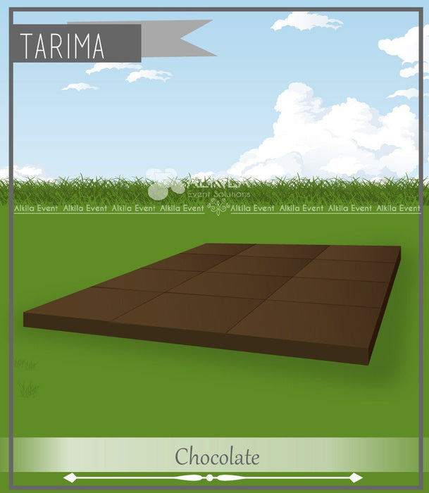 Tarimas de Madera en Color Chocolate (m2) AlkilaEvent