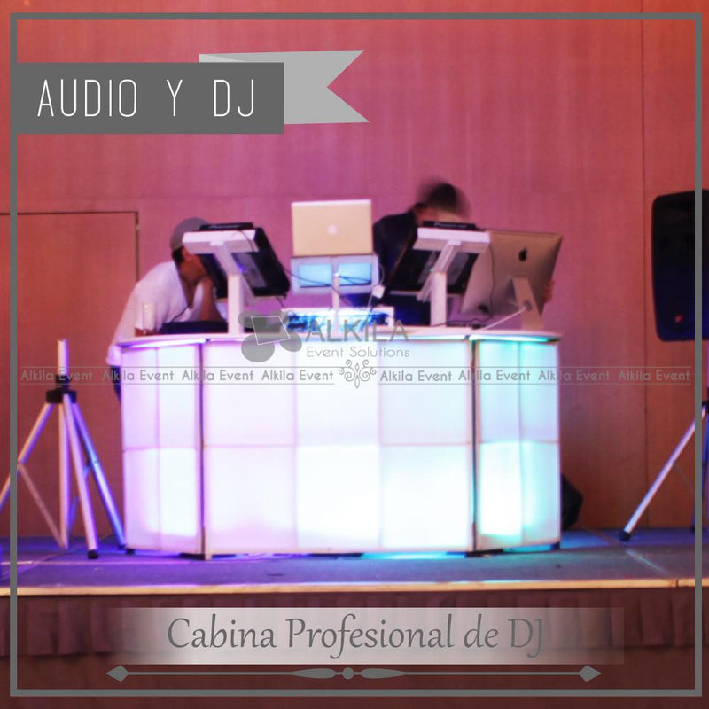 DJ EXTRA LARGE (800 a 1500 Personas) AlkilaEvent