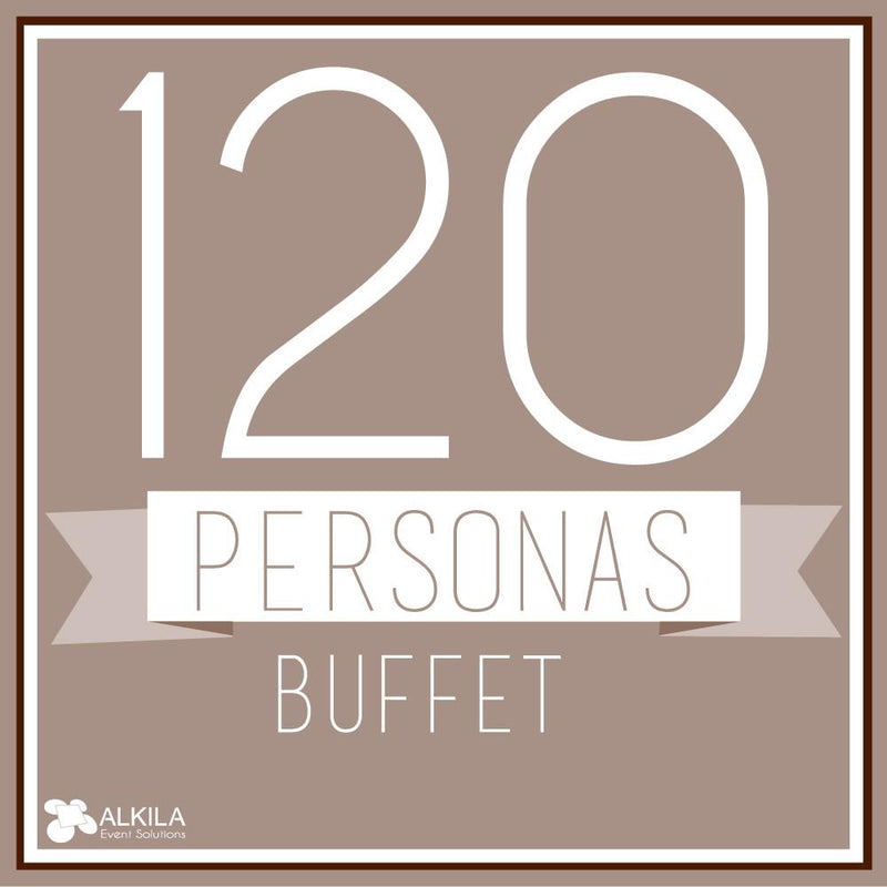 Buffet (120 personas) AlkilaEvent