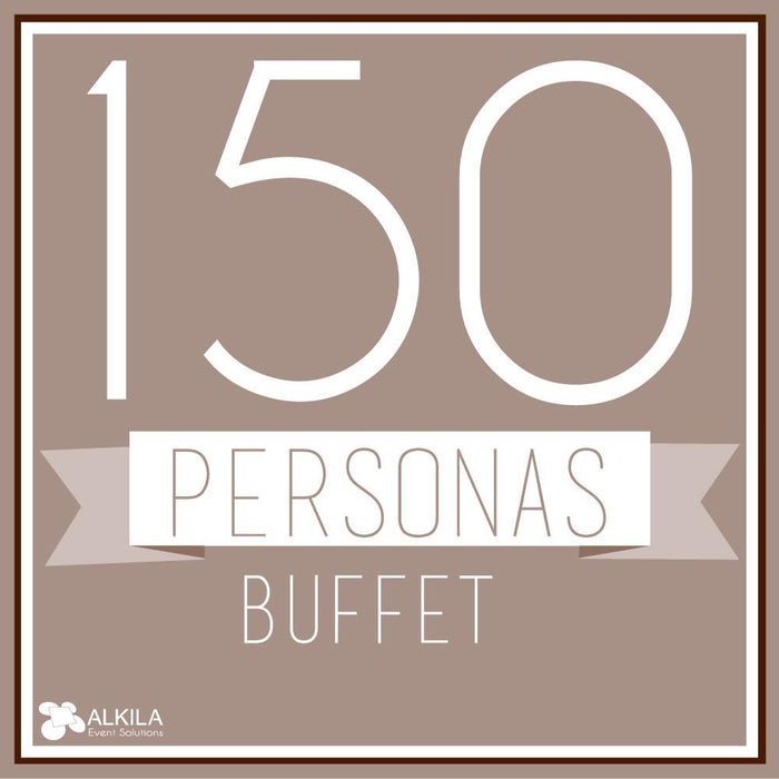 Buffet (150 personas) AlkilaEvent