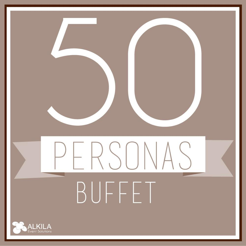 Buffet (50 personas) AlkilaEvent