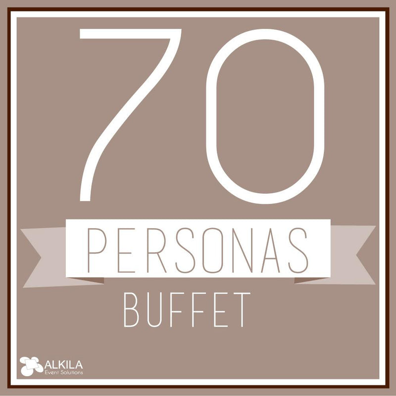 Buffet (70 personas) AlkilaEvent