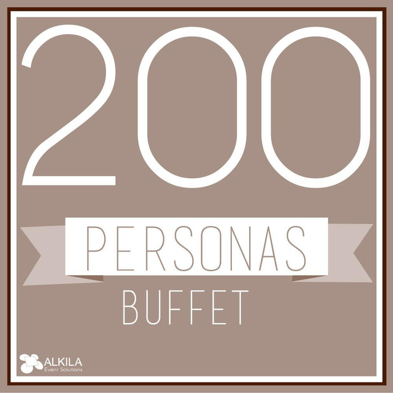 Buffet (200 personas) AlkilaEvent