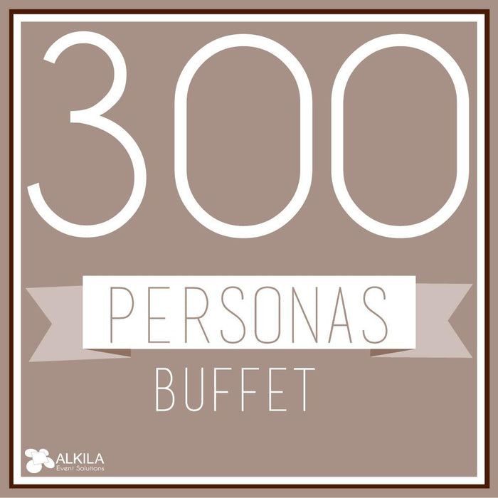 Buffet (300 personas) AlkilaEvent