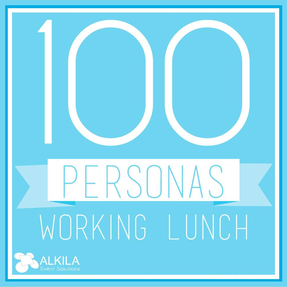 Working Lunch (100 personas)