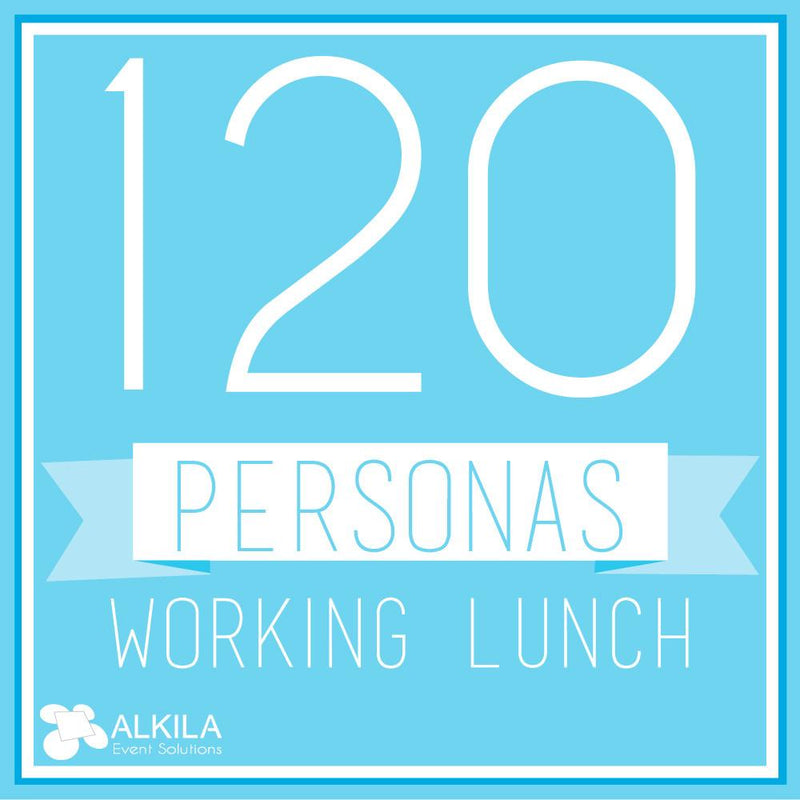 Working Lunch (120 personas)