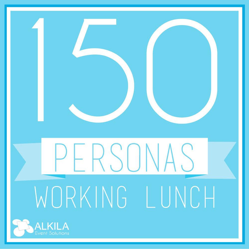 Working Lunch (150 personas)