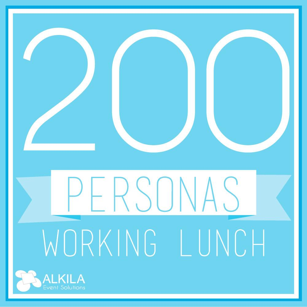 Working Lunch (200 personas)