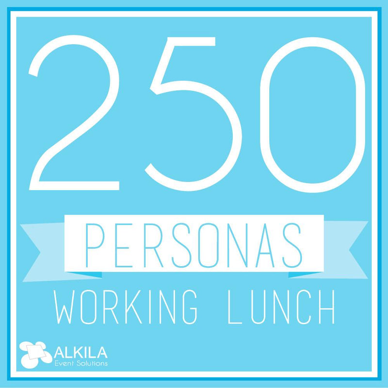 Working Lunch (250 personas)