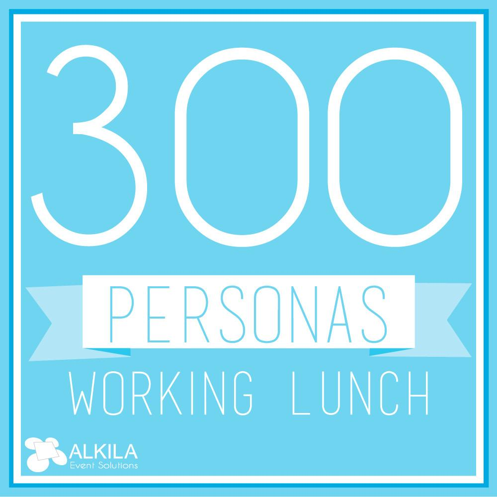 Working Lunch (300 personas)