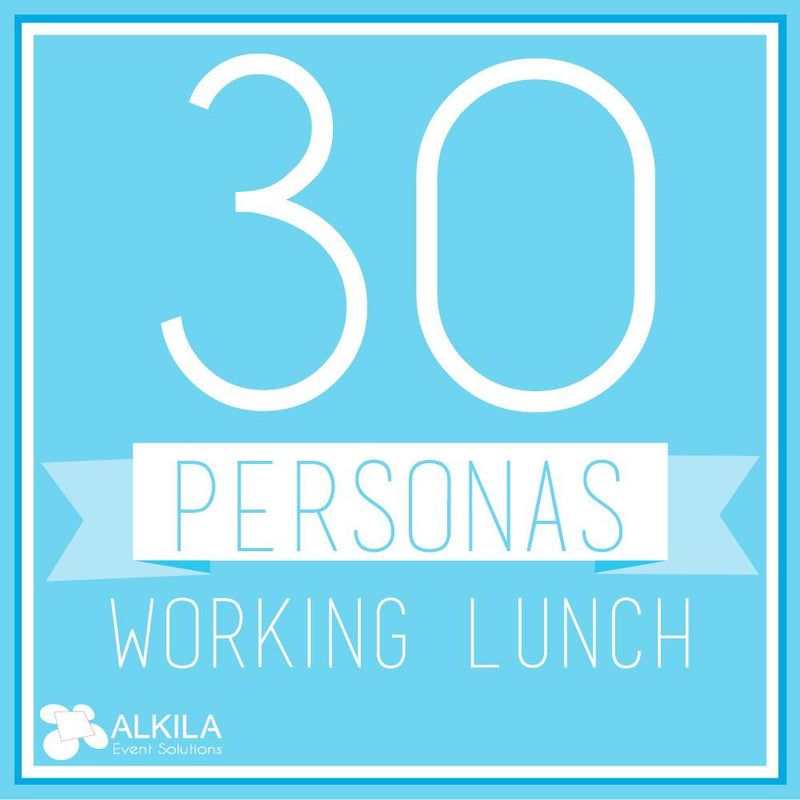 Working Lunch (30 personas) AlkilaEvent