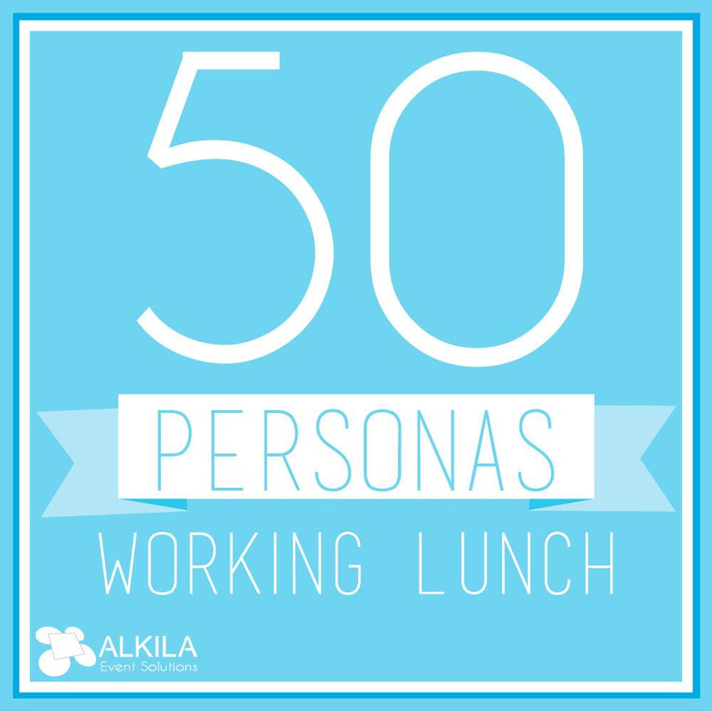 Working Lunch (50 personas)