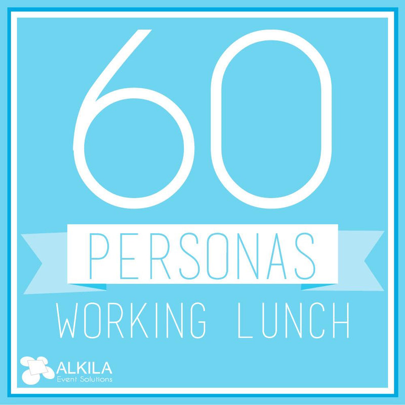 Working Lunch (60 personas)