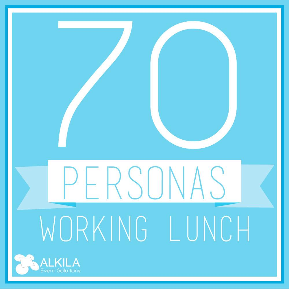 Working Lunch (70 personas)