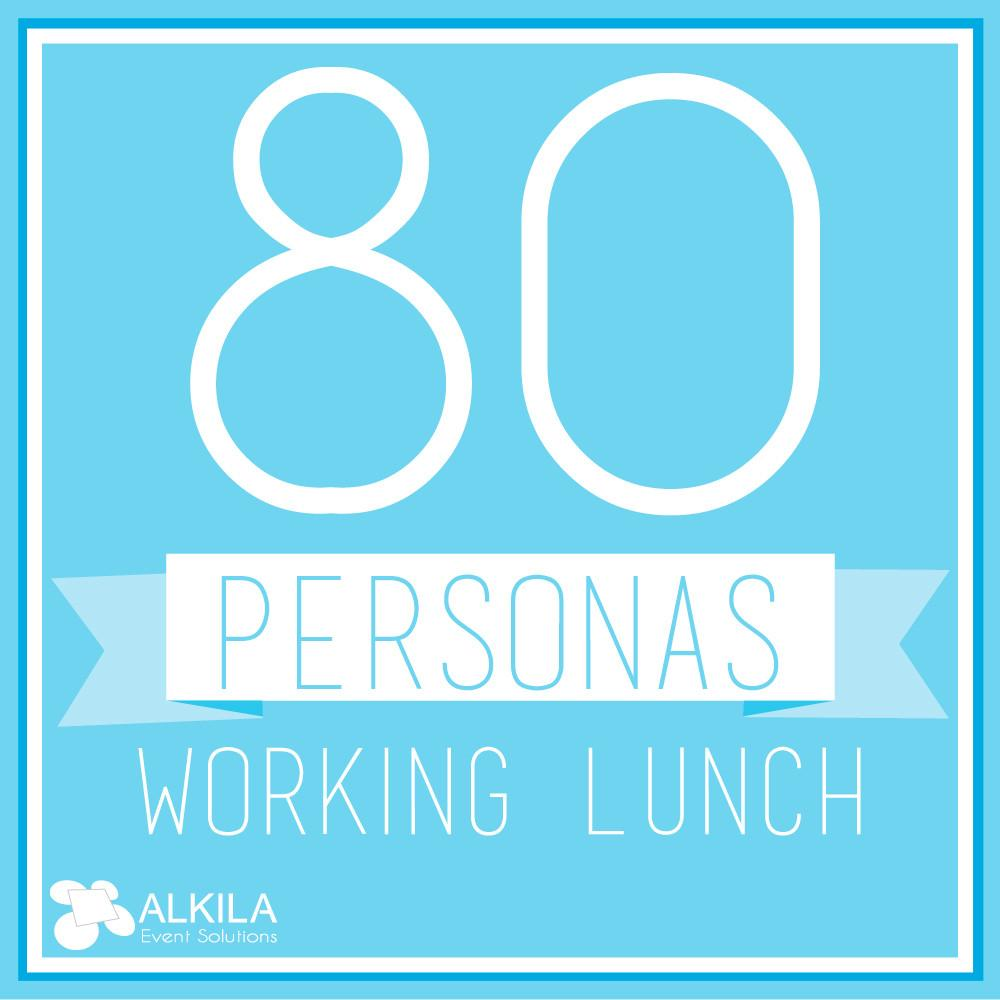 Working Lunch (80 personas)