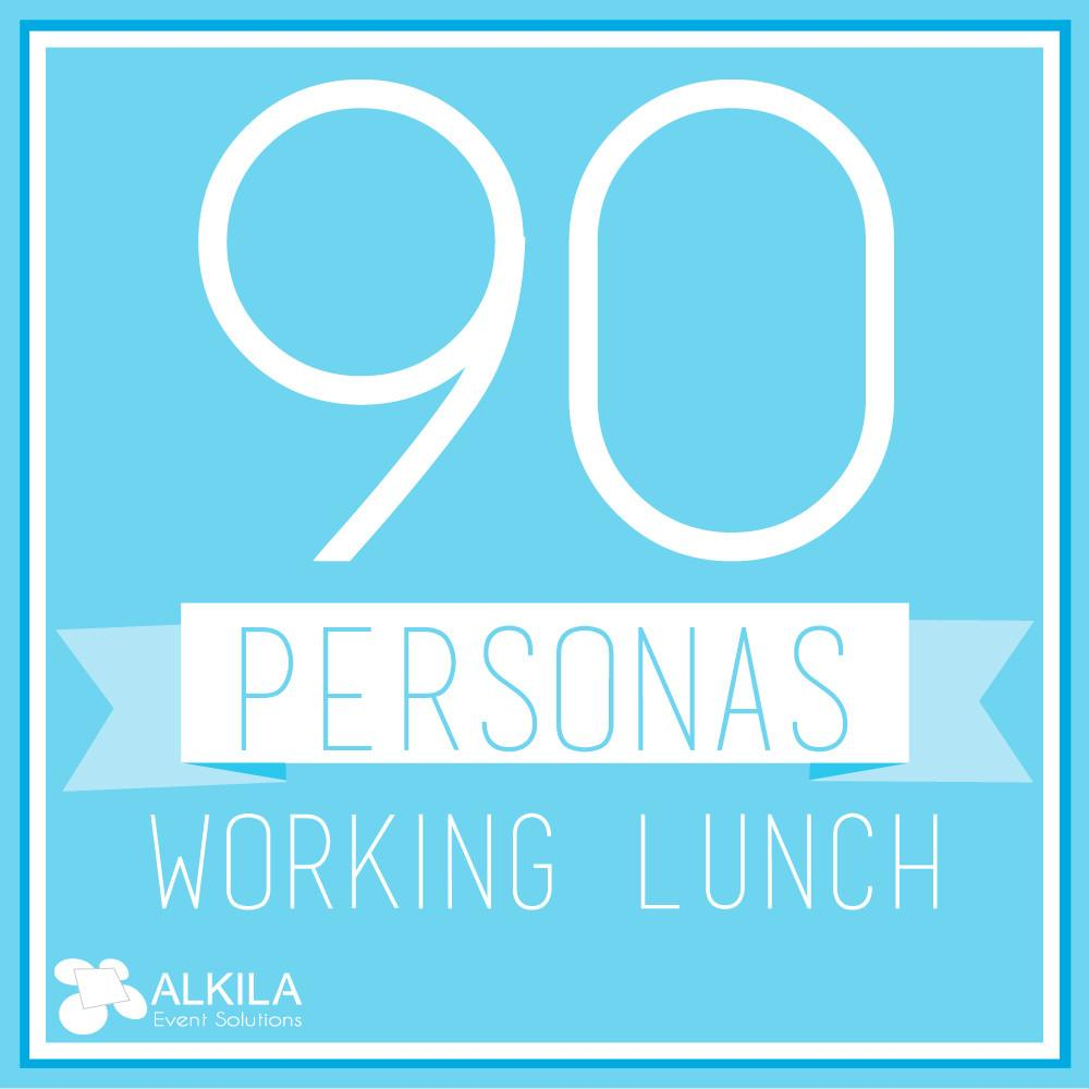 Working Lunch (90 personas)