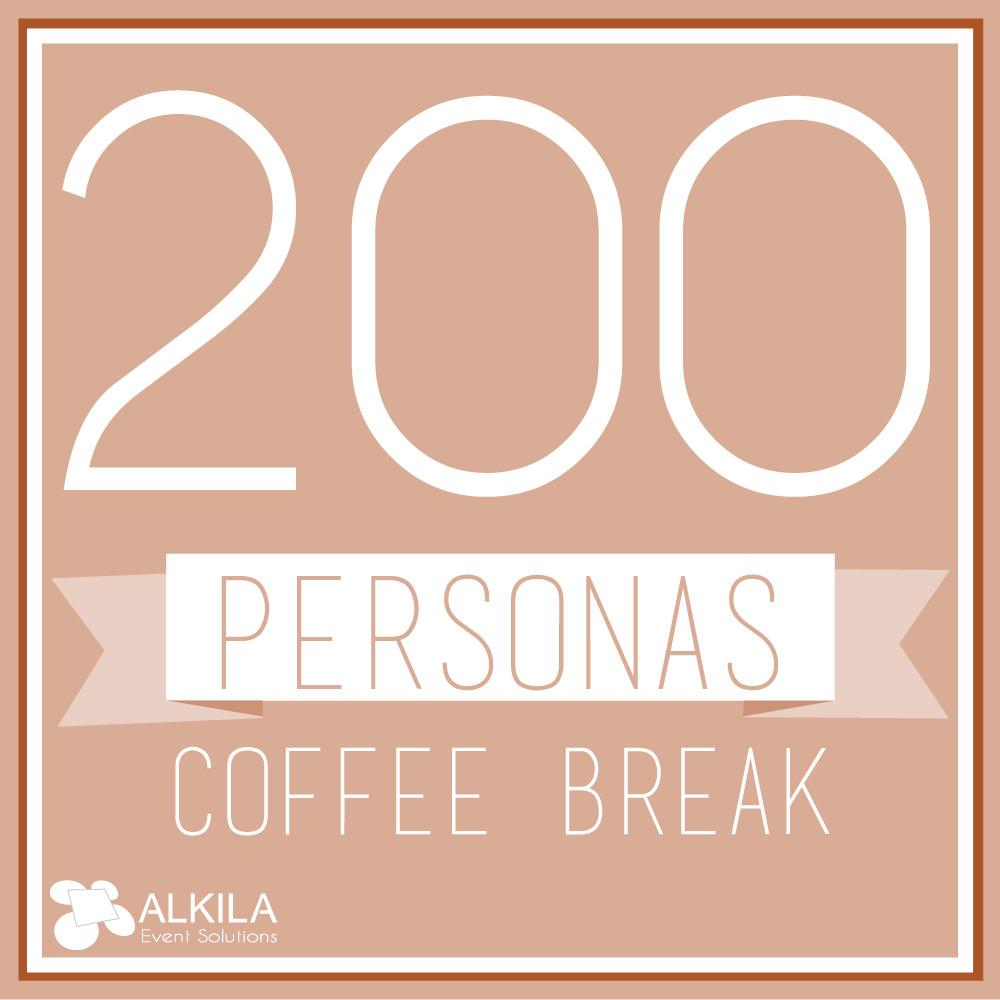 Coffee Break (200 personas) AlkilaEvent