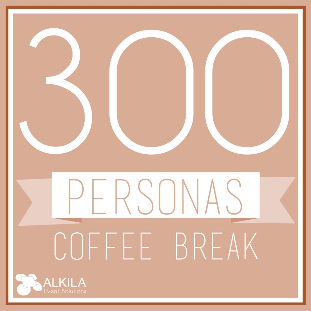 Coffee Break (300 personas) AlkilaEvent
