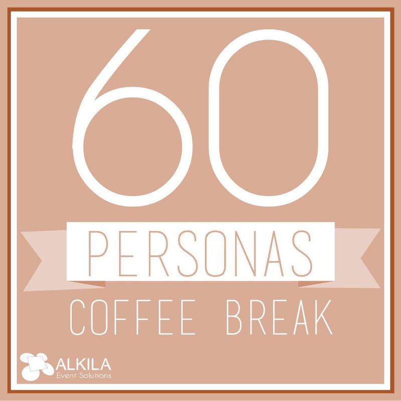 Coffee Break (60 personas) AlkilaEvent