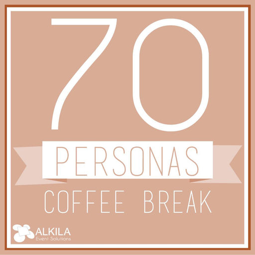 Coffee Break (70 personas) AlkilaEvent