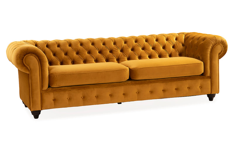 Sofá Chesterfield Mostaza