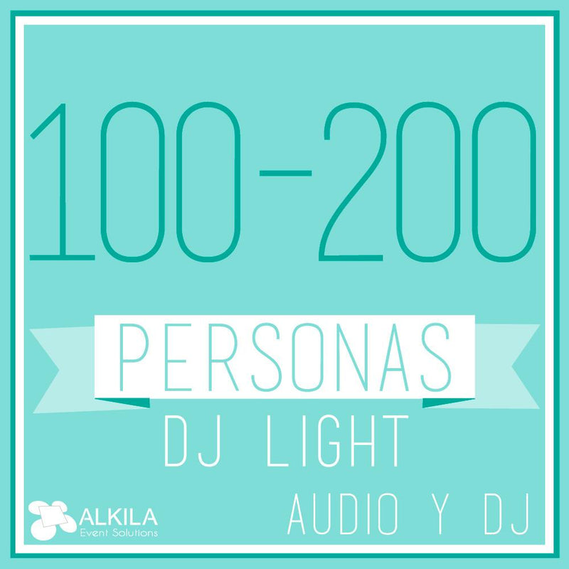DJ LIGHT (100 a 200 Personas)